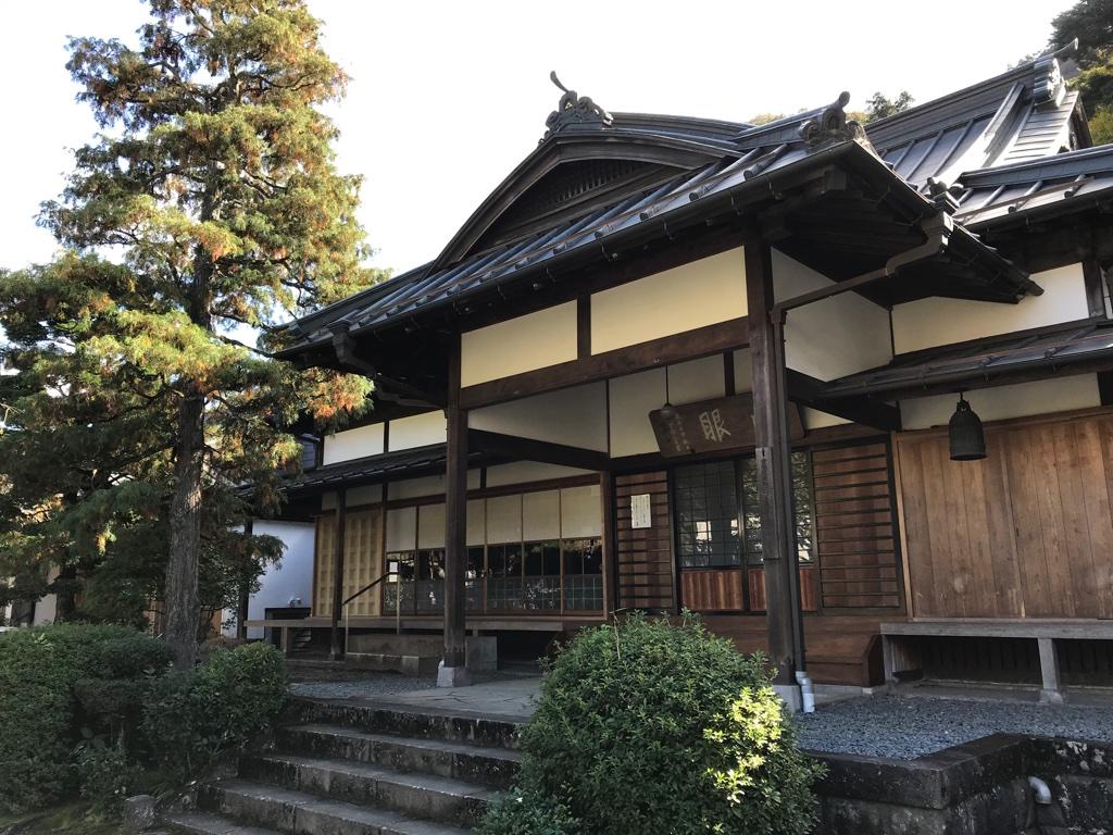 鎌倉時代に建立された正眼寺