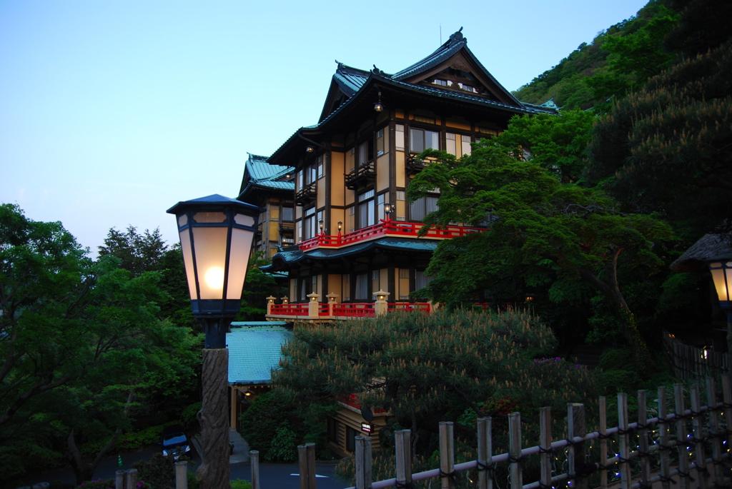 富士屋ホテル(現在改装中。2020年リニューアルオープン予定)