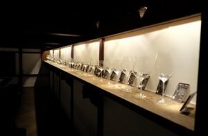 勝沼醸造 リーデルギャラリー